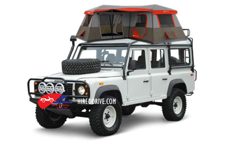 Image of a Land Rover Camper