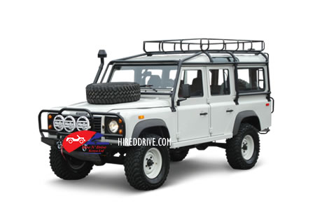 Image of a Land Rover Defender