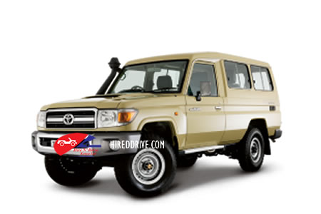 Image of a Toyota Land Cruiser J70
