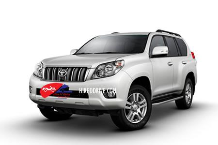 Image of a Toyota Prado