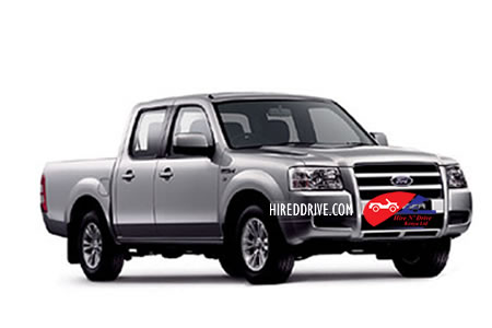 Image of a Ford Ranger double cab