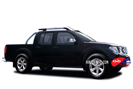 Image of a Nissan Navara double cab