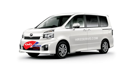 7-seater minivan hire services in Kenya