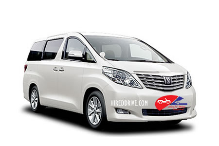 Image of a Toyota Alphard