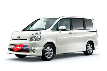 Image of 7-seater minivan hire services in Kenya