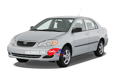 Image of a Toyota Corolla NZE