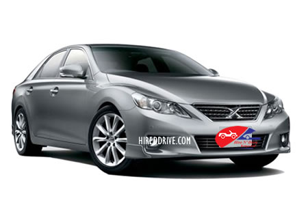 Image of a Toyota Mark X
